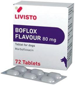 Boflox flavour 80 mg 72 tablete