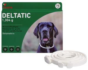 Deltatic 75 cm, zgardă antiparazitară pentru câini de talie mare